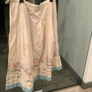 Pendleton Scenic Cotton Skirt